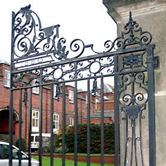 Gates repaired by Weldwell